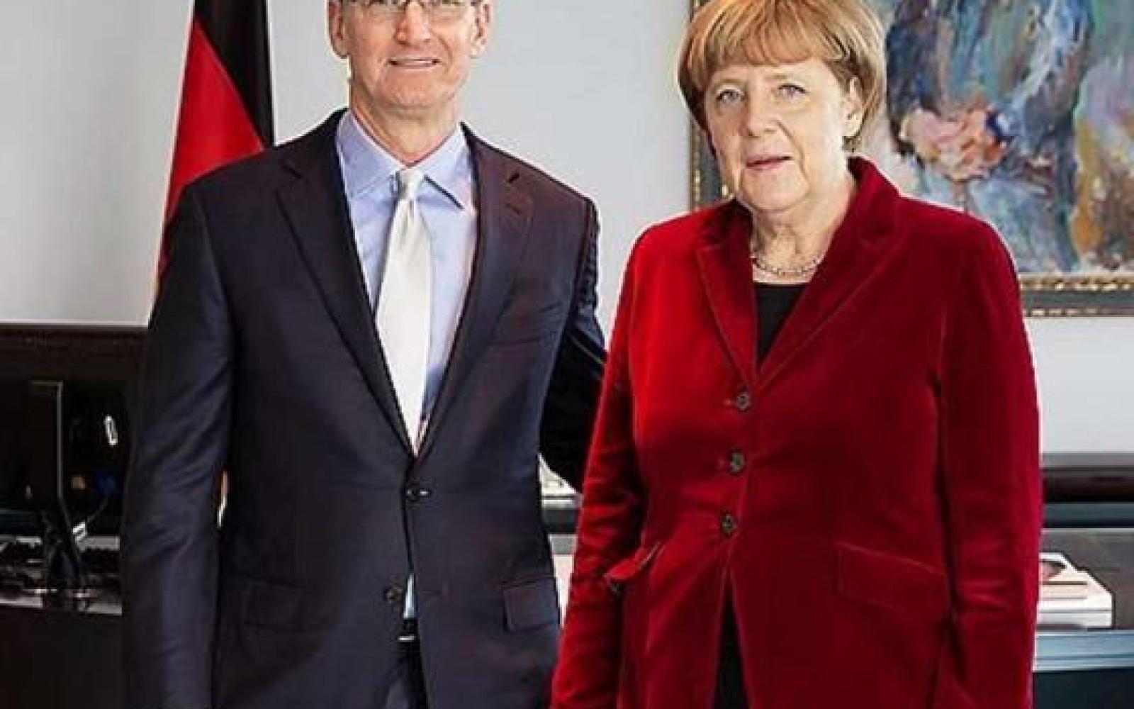 Tim Cook met with German Chancellor Angela Merkel during Berlin visit, talked privacy, security & more