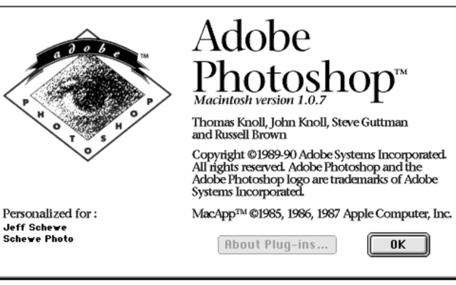 Photoshop celebrates 25th anniversary today of app originally created on a Macintosh Plus