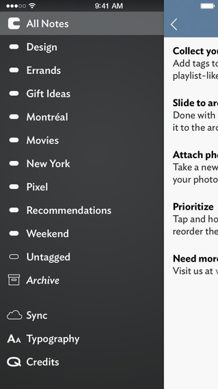 Vesper note-taking app adds first iPad version, landscape support for iPhone