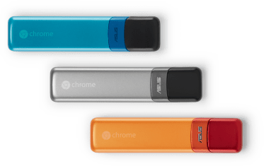 Chromebit HDMI stick running Chrome OS