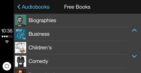 Audio Books CarPlay 2