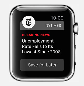 Apple Watch New York Times