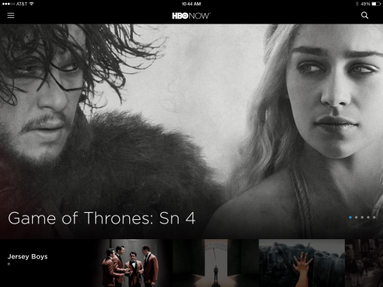 HBO NOW apps 1