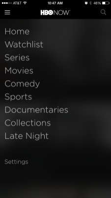 HBO NOW apps 3