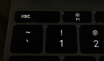 12-inch MacBook 'esc' key