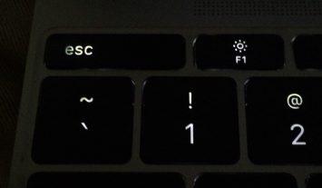 12-inch MacBook 'esc' key