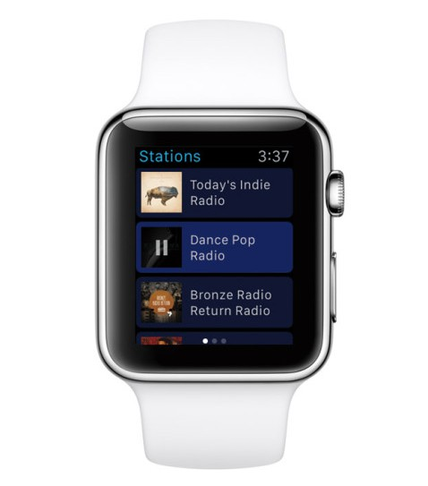 Pandora Radio Apple Watch 2
