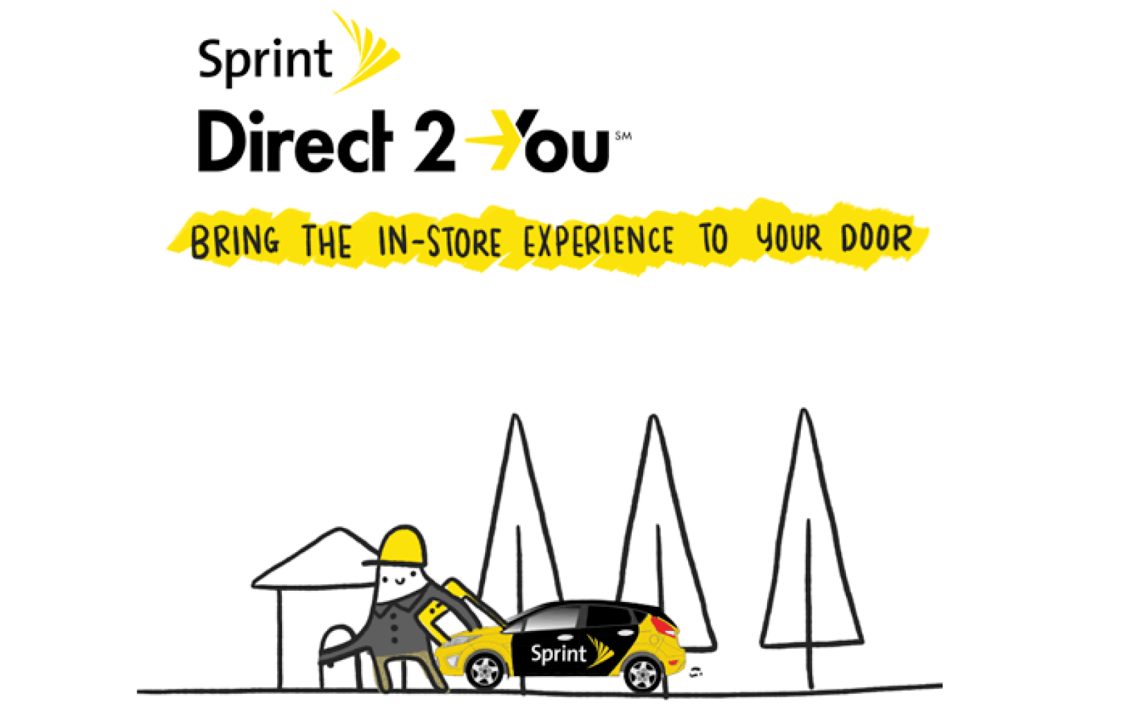 Sprint begins roll-out of home/office iPhone setup service, co-brands RadioShack stores
