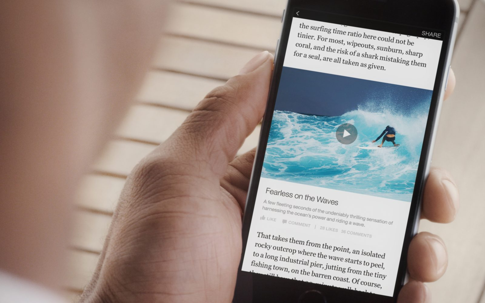 Facebook launches new 'Instant Articles' feature in iPhone