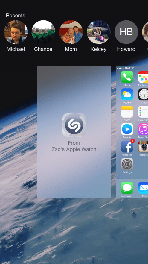Apple Watch Shazam 5