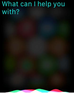 Apple Watch Siri 4