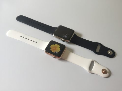 Apple Watch rose gold WatchPlate2
