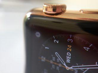 WatchPlate Apple Watch rose gold classic macro 3