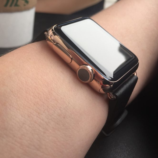 WatchPlate Apple Watch rose gold gallery 1