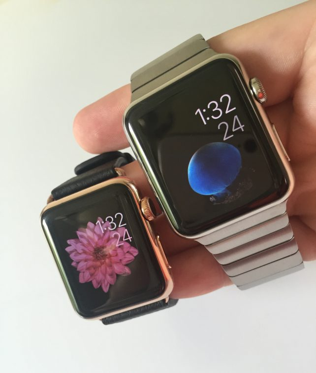 WatchPlate Apple Watch rose gold gallery 4
