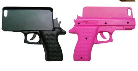 special-unique-cool-3D-font-b-Gun-b-font-shape-Pistol-font-b-Case-b-font
