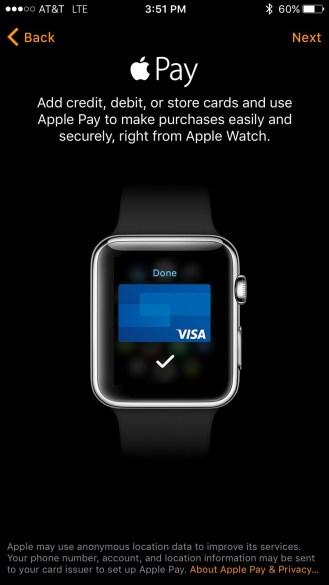 Apple Watch Pay Setup 1
