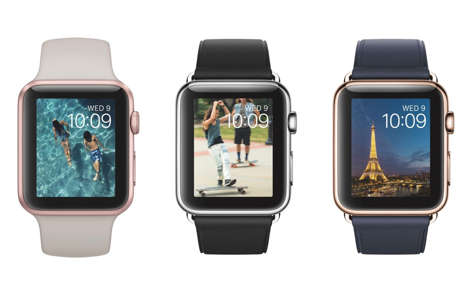 fa5471171 Apple Watch Sport collection adds yellow and rose gold-anodized models, new  Sport and Leather bands, more
