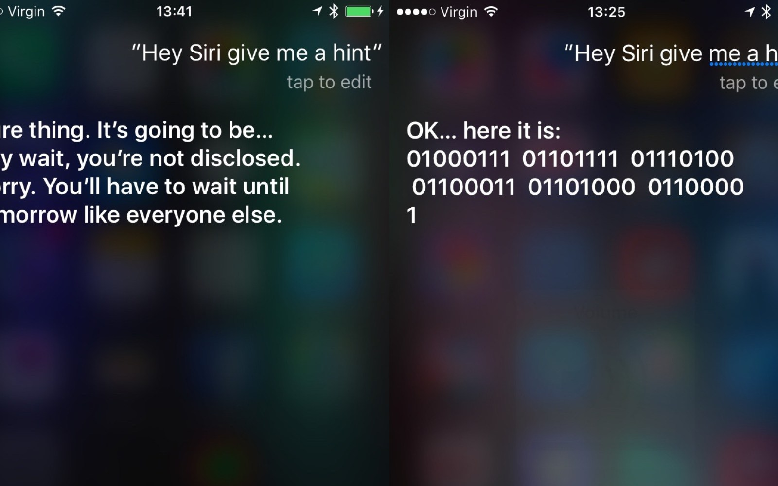 Siri giving some more 'hints' ahead of Apple event tomorrow