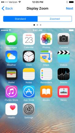 iOS 9 Standard 1