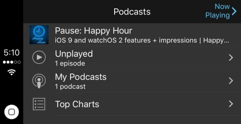 Podcasts new