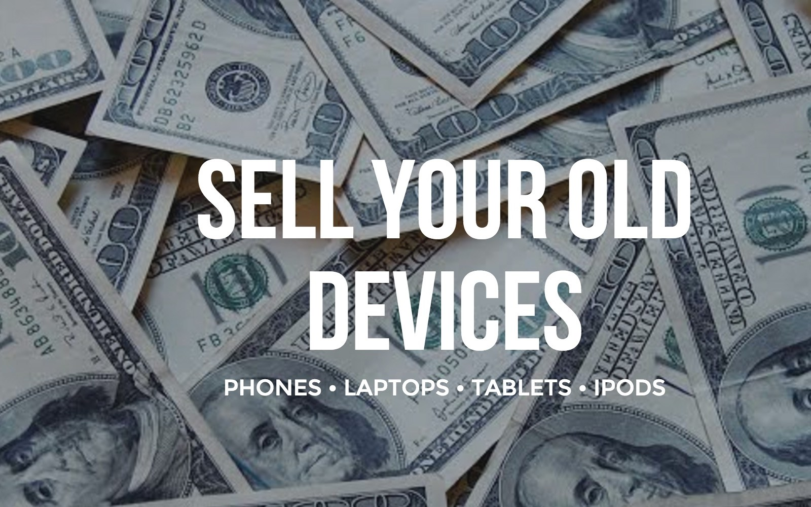 Announcing the best value fix or cash trade-in for your unused/old iPhones, iPads and other Apple products