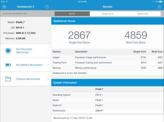 iPad Pro testing low