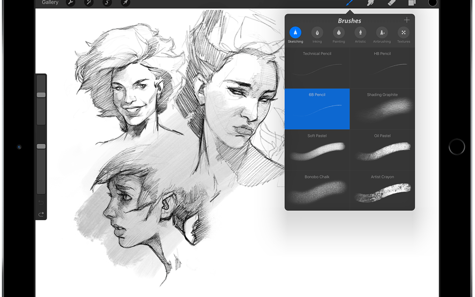 Procreate version 3 adds iPad Pro and Apple Pencil support
