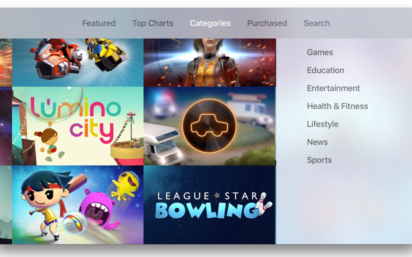 Apple TV expands App Store categories beyond games and entertainment