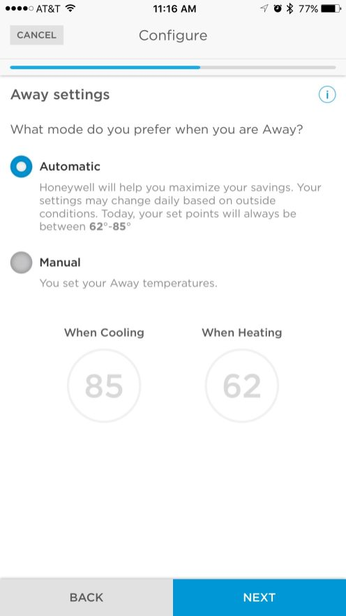 Honeywell Lyric HomeKit setup 1