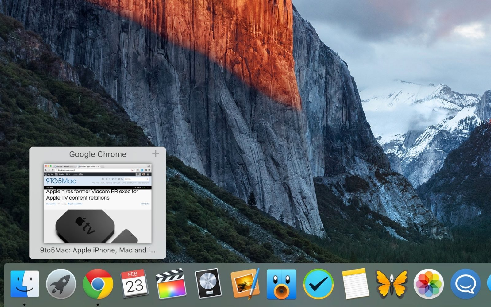 How-To: Display window previews for apps in the OS X Dock
