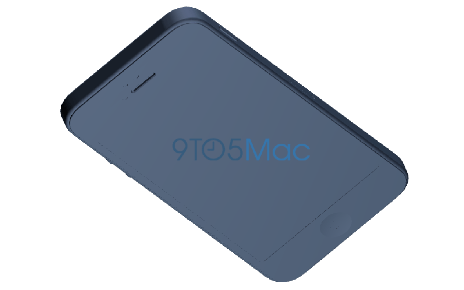 iPhone 5se drawings: nearly identical to 5s with slightly curved edges