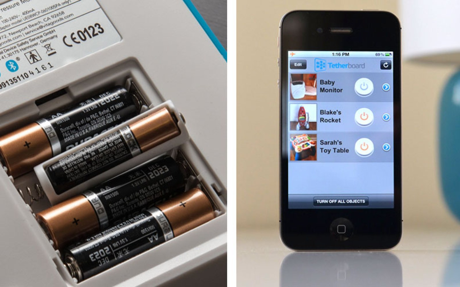 Use your iPhone to control any AA-powered device with this simple $10 adapter