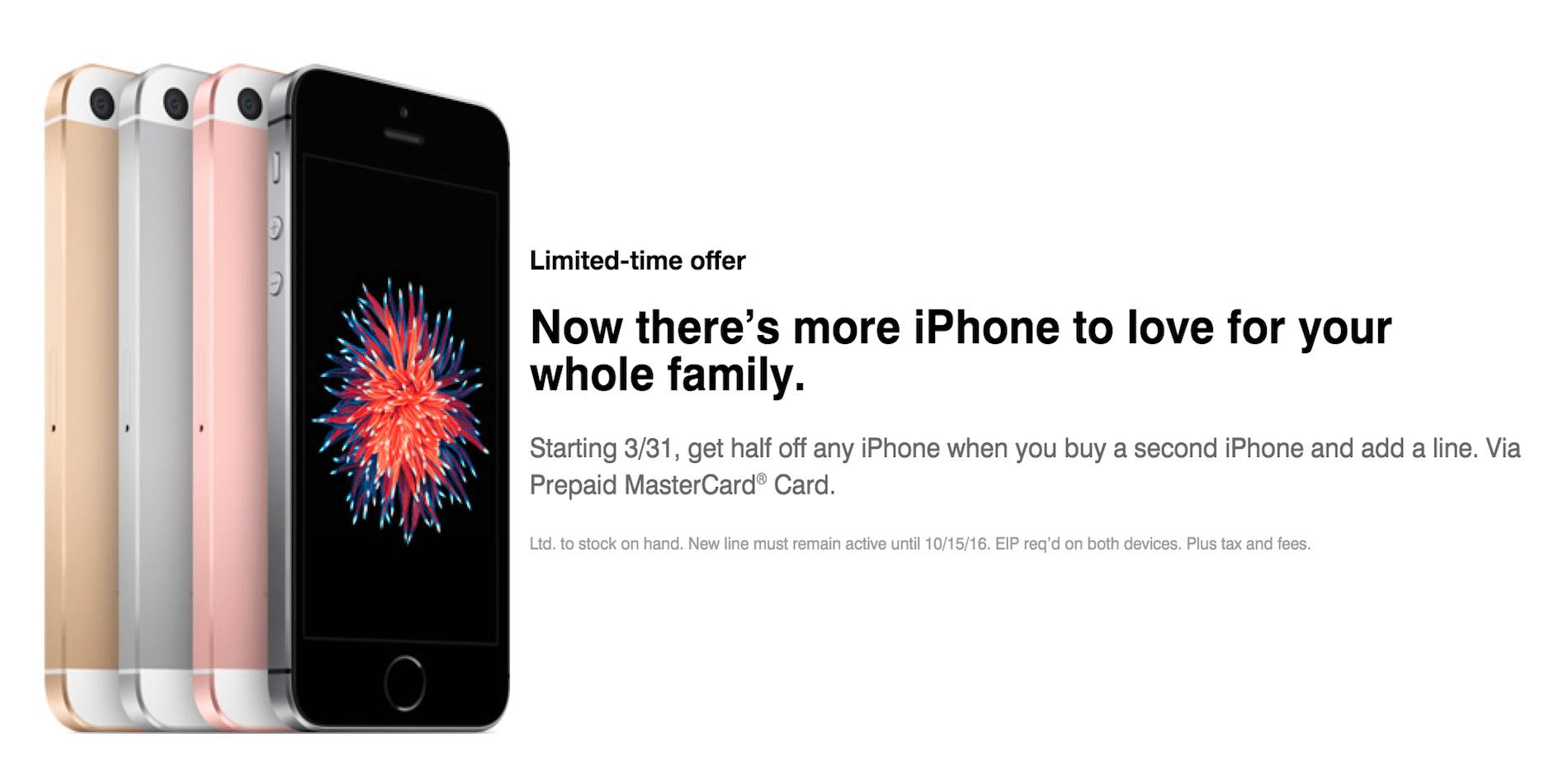 t mobile deals iphone se