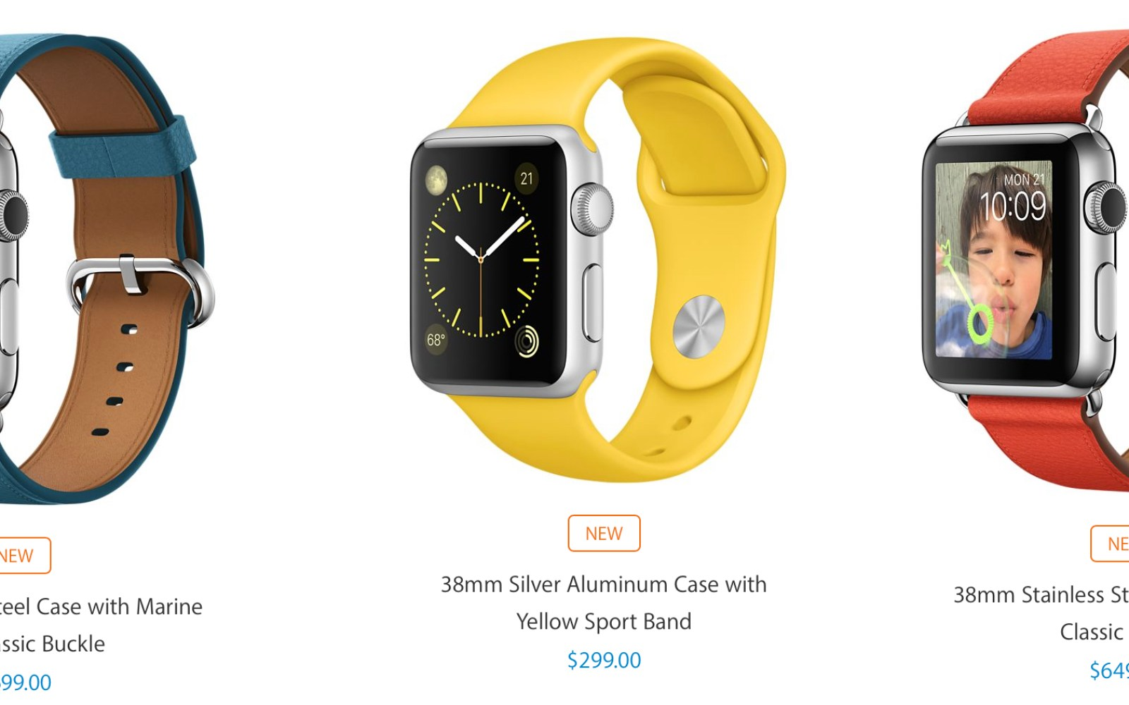 Apple launches variety of new Apple Watch models and band colors