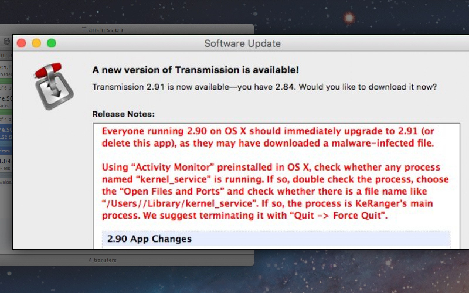 First OS X ransomware detected in the wild, will maliciously encrypt hard drives on infected Macs [Update: How to fix]
