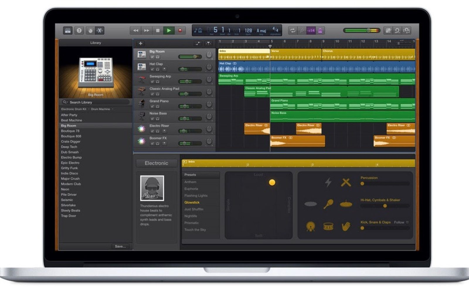 GarageBand for Mac now works with Music Memos & Logic Remote
