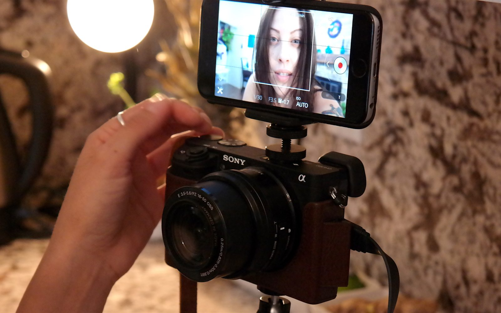 How-To: Make Sony's a6300 a vlogging camera by using an