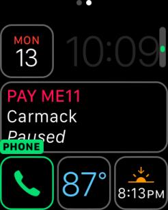 watchOS 3 Complication - Phone