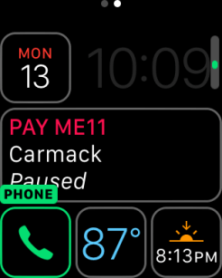 watchOS 3 Complication - Phone