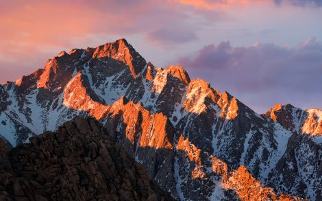 macOS 10.12 Sierra desktop wallpaper