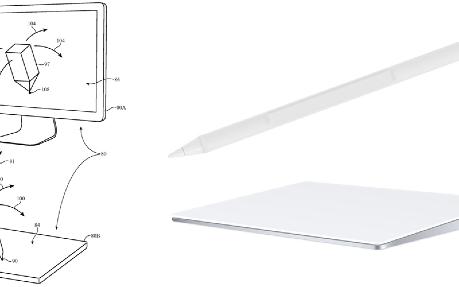 Patent to allow Apple Pencil to work with a Mac trackpad now granted