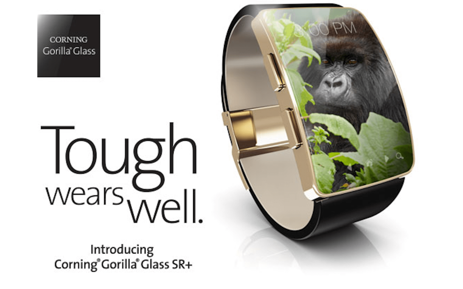 Corning unveils Gorilla Glass SR+ offering for wearables, possibly headed to the Apple Watch