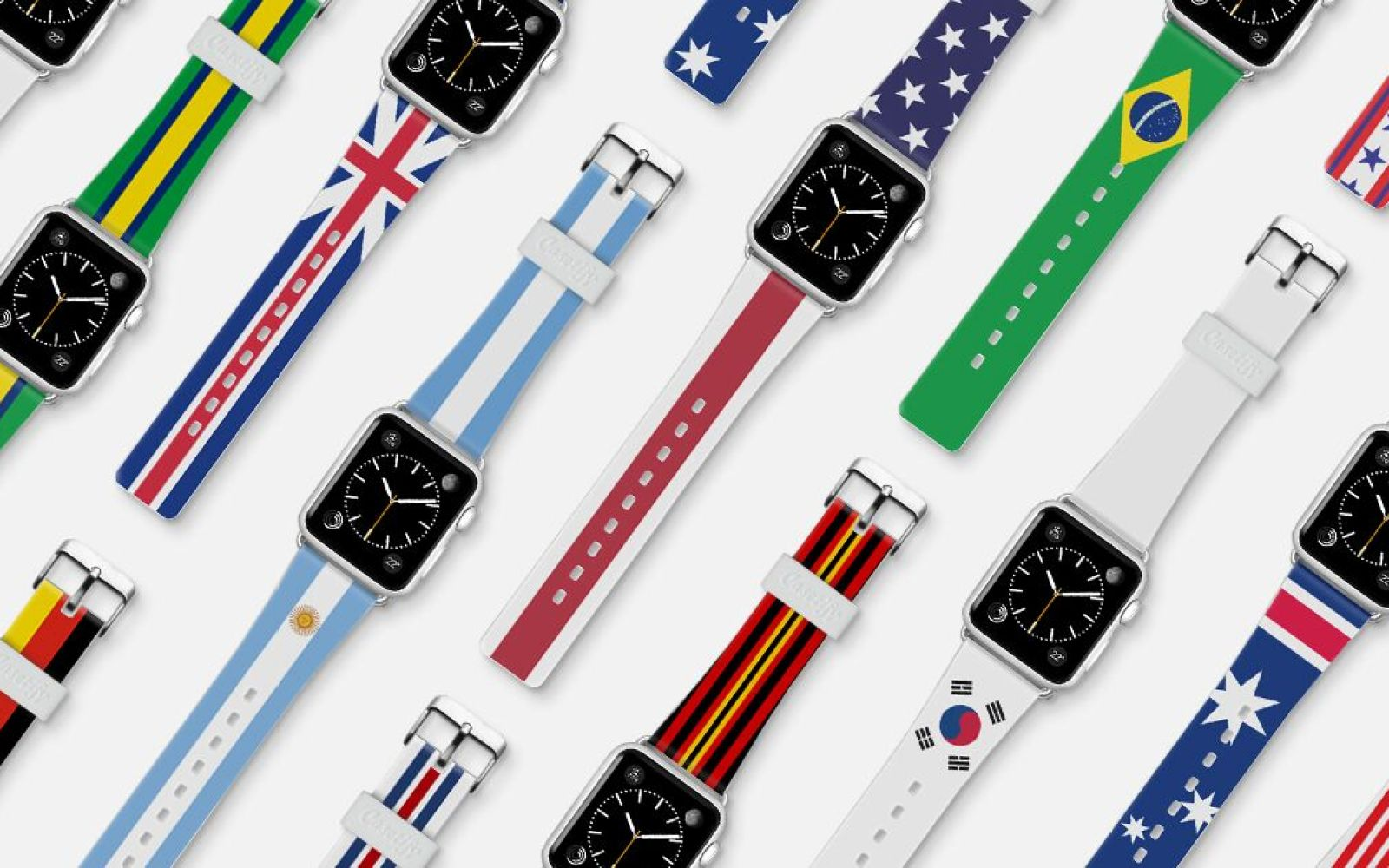 Casetify offering Olympics-inspired Apple Watch bands in various national colors