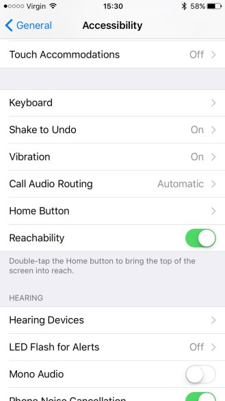 Pick 'Home Button'