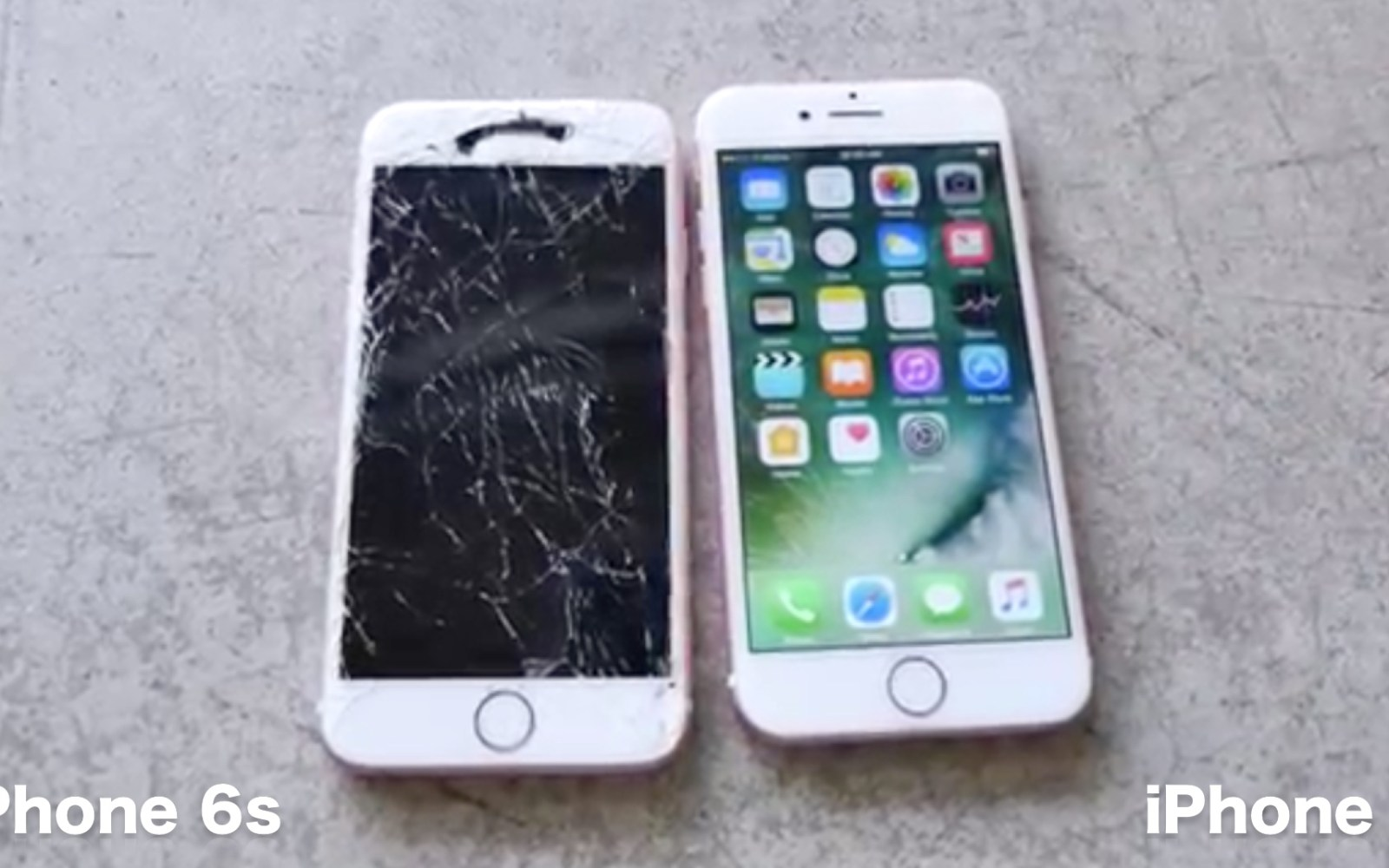 iPhone 7 bests iPhone 6s in durability drop test, survives ten foot face-down drop