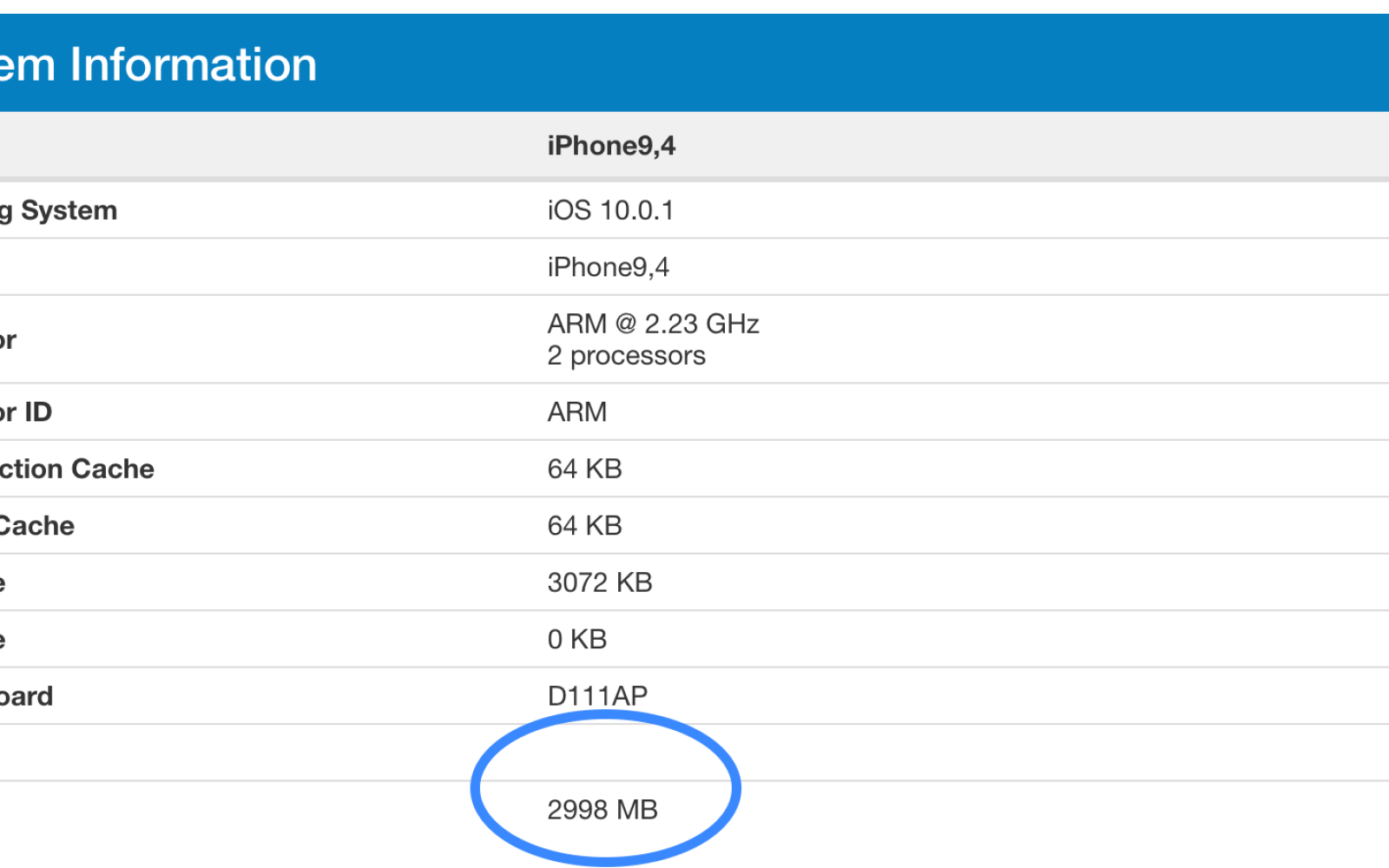 GeekBench benchmarks confirm iPhone 7 Plus ships with 3GB of RAM, faster than 12.9″ iPad Pro