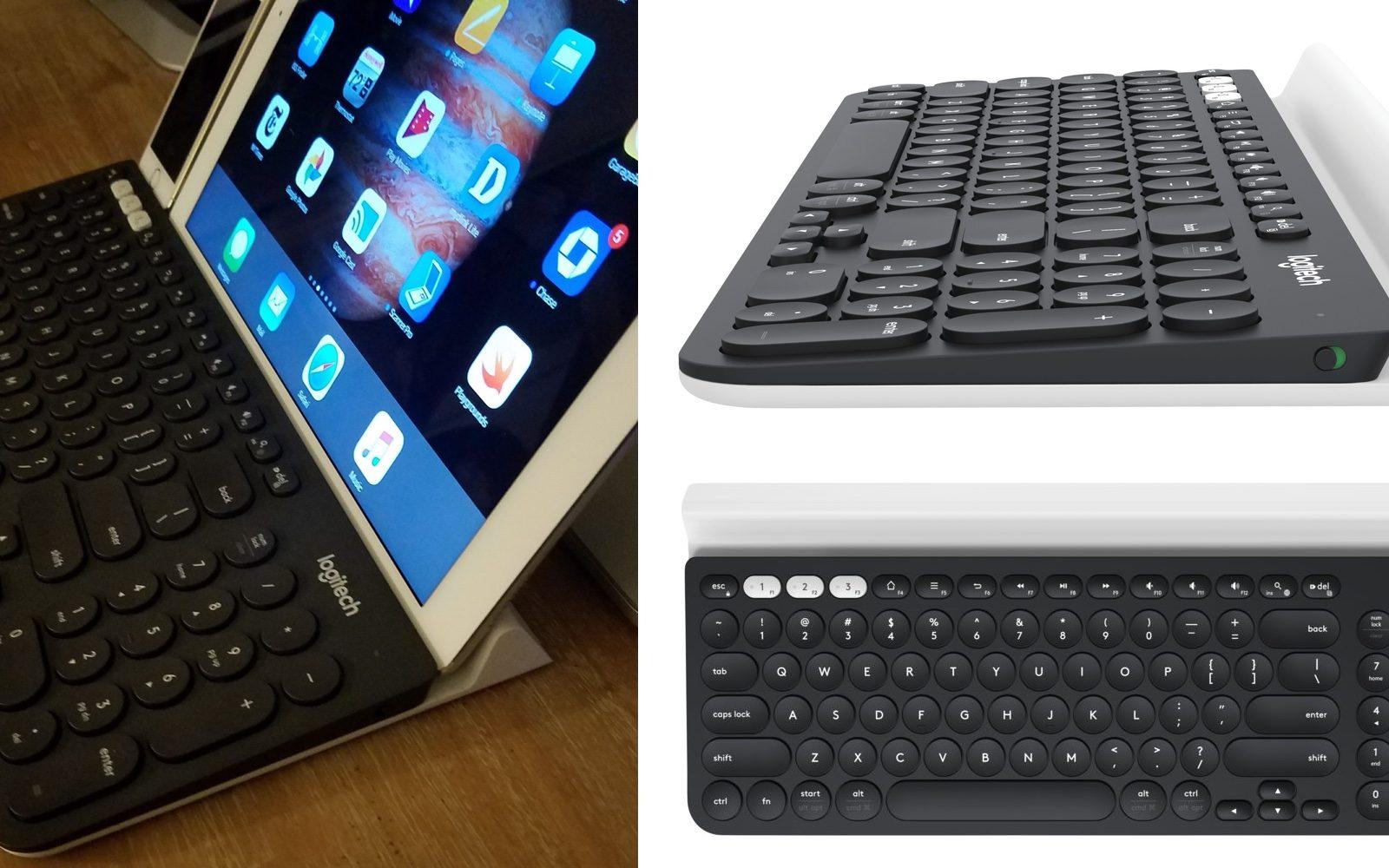 Logitech K780 Multi Device Bluetooth Keyboard integrates
