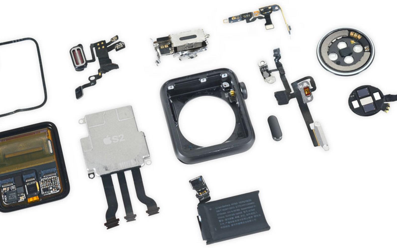 Apple Watch Series 2 teardown reveals secret to waterproofing, beefier battery, 2nd mic
