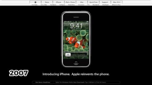 iPhone, 2007